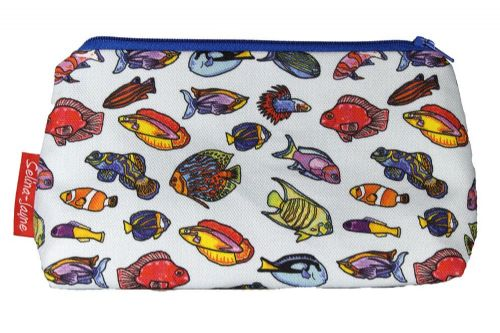 Selina-Jayne Tropical Fish Limited Edition Designer Cosmetic Bag